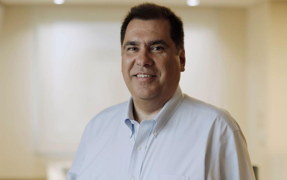 Marco Schroeder, presidente executivo da Oi (Foto: Marcos Serra Lima/G1)
