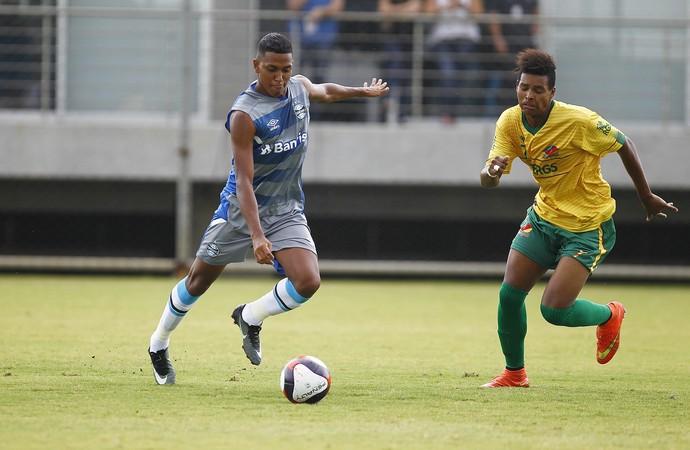 Pedro Rocha Grêmio x Sindicato dos Atletas (Foto: Lucas Uebel/Divulgação Grêmio)