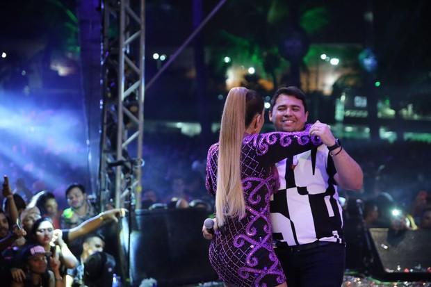 Solange Almeida e Xand (Foto: Divulgação)