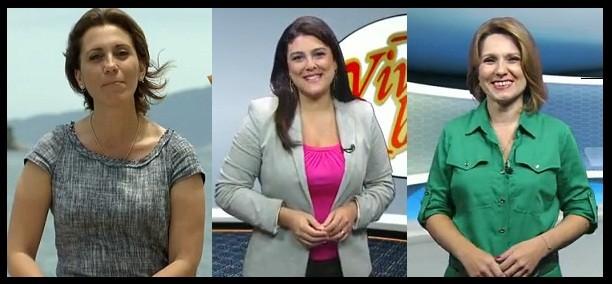 Rosana Valle, Janaina Hohne e Vanessa Faro (Foto: arquivo)