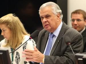Presidente do Conselho de Ética José Carlos Araújo (Foto: Charles Sholl/Futura Press/Estadão Conteúdo)