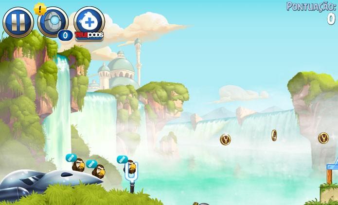 Angry Birds: funcionamento da jogabilidade (Foto: Reprodução/Felipe Vinha)