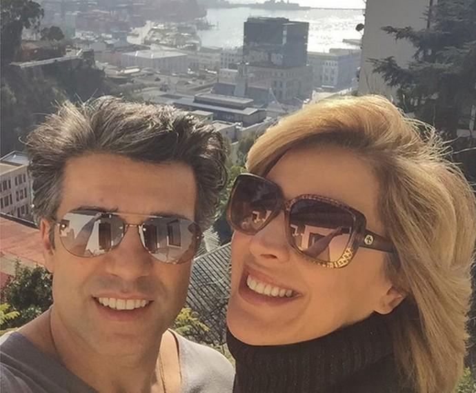 Jarbas Homem de Mello posta foto em viagem com Claudia Raia (Foto: Arquivo Pessoal)