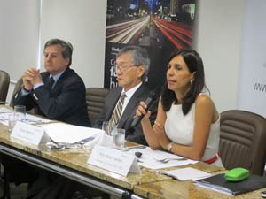 Sinduscon apresentou dados sobre o setor da construção civil nesta quarta-feira (28) (Foto: Fabiola Glenia/G1)
