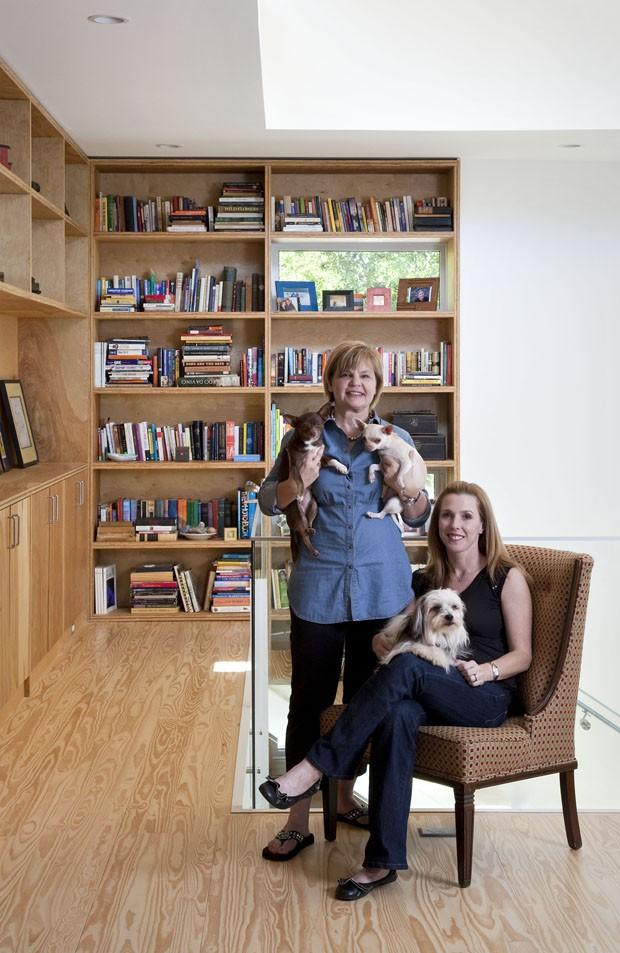 Casa de Marsha Fatino e Alison Thorn (Foto: Ryann Ford /  The New York Times)