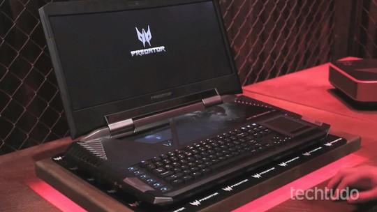 Acer revela preços de notebooks gamer da linha Predator a partir de R$ 7,5 mil no Brasil