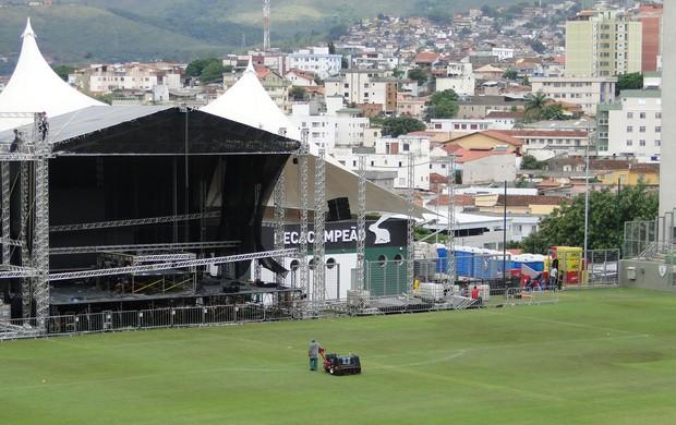 estádio Independência, em Belo Horizonte (Foto: Gabriel Medeiros/Globoesporte.com)