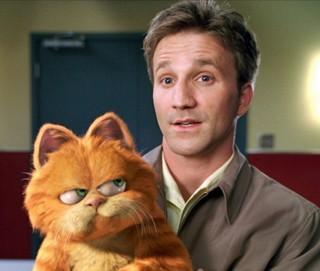 Garfield e seu dono, Jon (Foto: Divulgação)