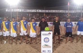 Circuito Maranhense de futebol de areia: etapa de Santa Inês é iniciada