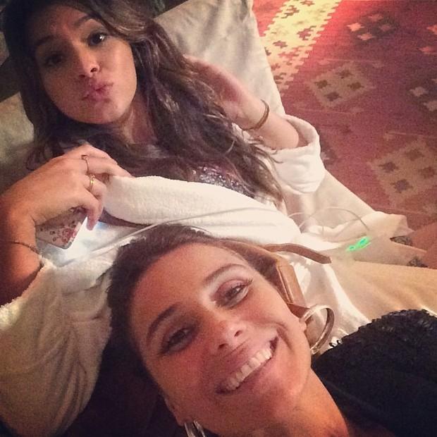 Bruna Marquezine e Giovanna Antonelli (Foto: Reprodução/Instagram)