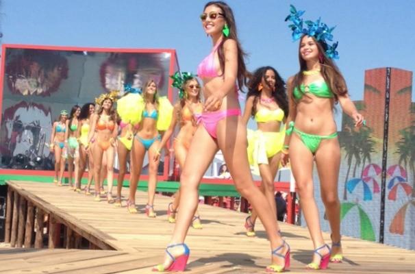 Garota Verão 2014 (Foto: Gabriela Loeblein/RBS TV)