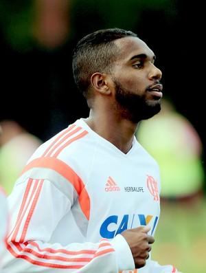 Luiz Antonio no treino do Flamengo (Foto: Cezar Loureiro / Agência O Globo)