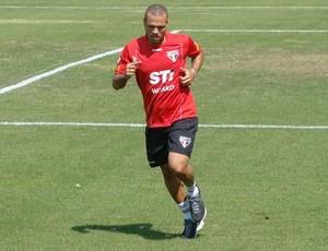 Luis Fabiano, Treino do São Paulo (Foto: Divulgação / Site Oficial do São Paulo)