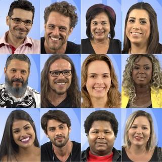 Participantes do BBB 16 (Foto: Divulgação)
