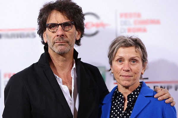 Joel Coen e Frances McDormand (Foto: Getty Images)