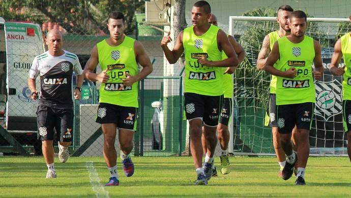 figueirense treino cft (Foto: Luiz Henrique / FFC)