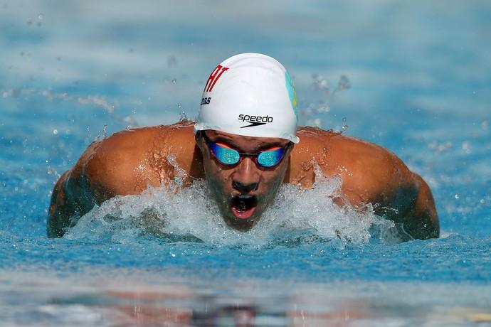 natação Thiago Pereira 400m medley Troféu Maria Lenk (Foto: Satiro Sodre/SSPress)