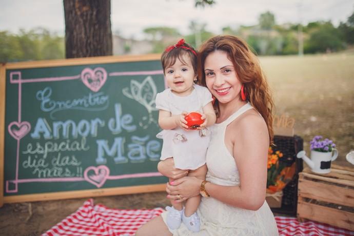 O encontro foi especial para o dia das mães (Foto: Foto: Julia Gabriela)