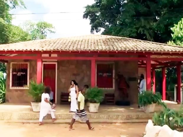 Terreiro Ilê Axé Opô Afonjá fica no bairro do Cabula (Foto: Reprodução/TV Bahia)