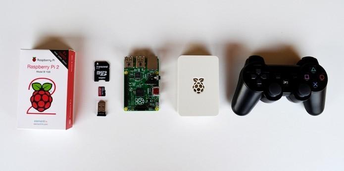 Console retrô pode ser passatempo nostálgico para construir (Foto: Divulgação/RecalBox)