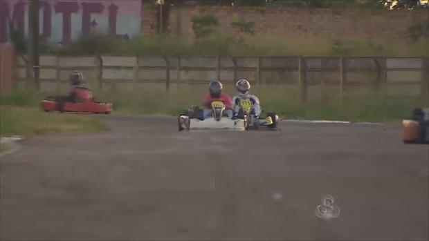 Etapa municipal de Kart (Foto: Reprodução/TV Rondônia)