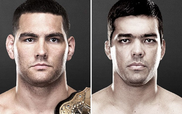 Montagem MMA UFC - Chris Weidman x Lyoto Machida (Foto: Reprodução/UFC)
