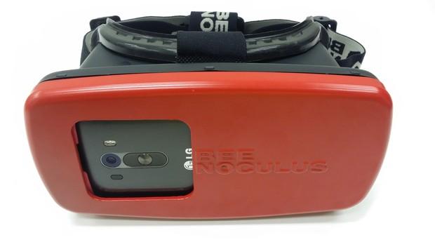 Óculos de realidade virtual brasileiro são destaques de feira de tecnologia