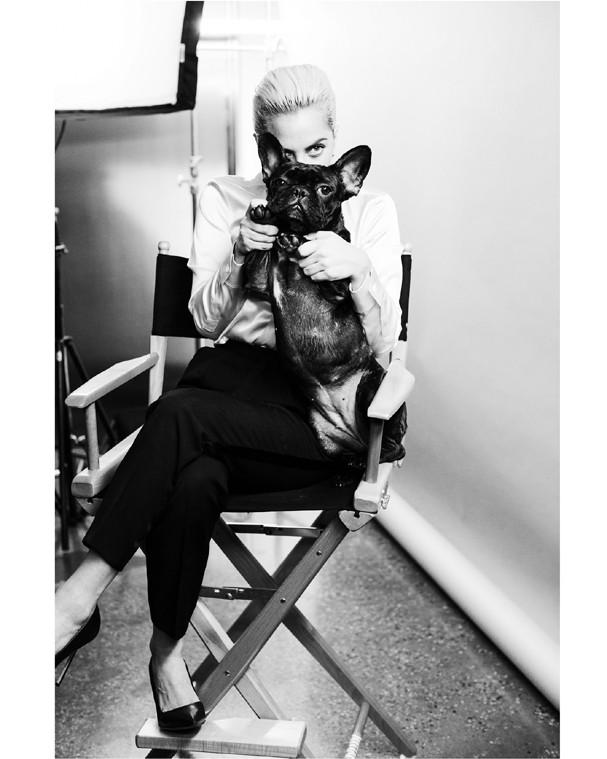 Bastidores da campanha da Tiffany&Co. com Lady Gaga (Foto: Divulgação)