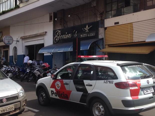 Dupla assaltou joalheria em Jaú (Foto: Corpo de Bombeiros/Divulgação)