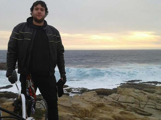 César Barriga recebeu alta depois de quatro meses internado com raiva (Foto: Reprodução/Facebook/César Barriga)