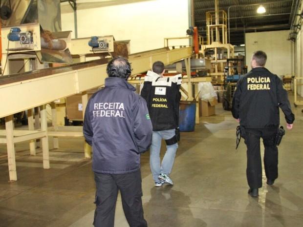 Operação reúne Polícia Federal, Receita Federal e Procuradoria da Fazenda Nacional (Foto: Divulgação/Receita Federal)