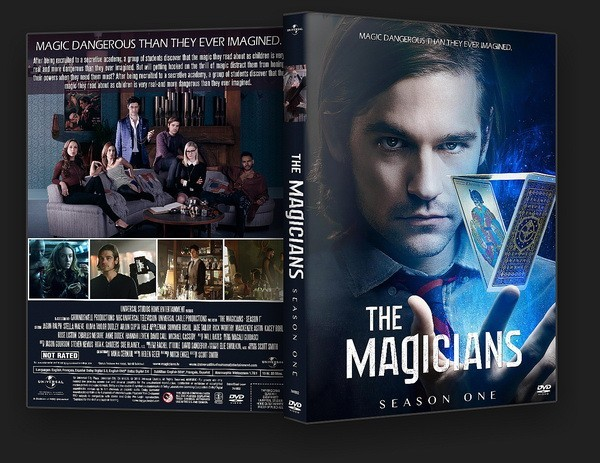 Capa do DVD de The Magicians (Foto: Divulgao)