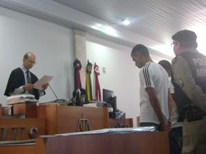 Réus da 'Chacina do Glória' foram condenados em Campina Grande (Foto: Taiguara Rangel/G1)