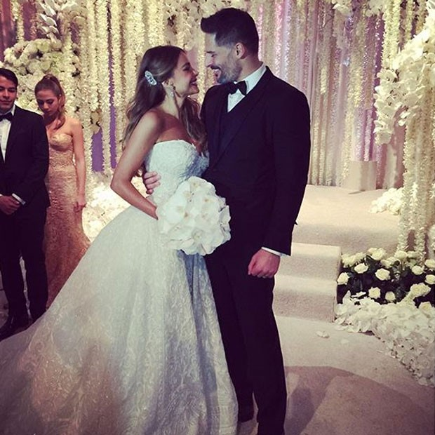 Sofia Vergara se casa com Joe Manganiello em Palm Beach, na Flórida, nos Estados Unidos
