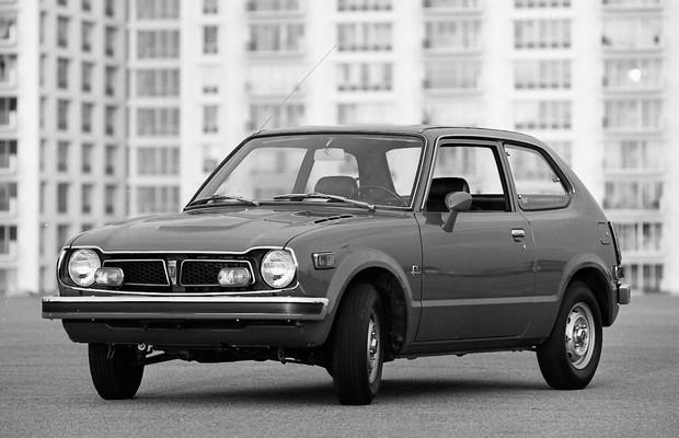 Honda Civic 1973 (Foto: Divulgação)