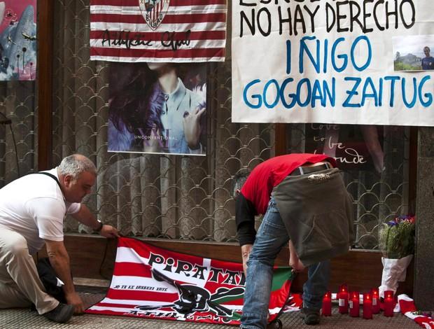 Iñigo Cabacas torcedor Athletic Bilbao (Foto: EFE)
