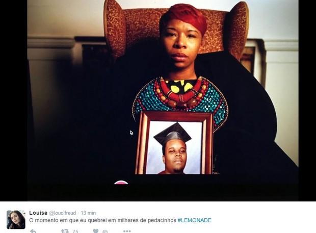 Internautas comentam lançamento de Lemonade, de Beyoncé (Foto: Reprodução/Twitter)