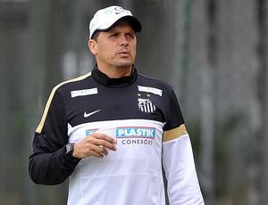 Técnico Claudinei Oliveira, treino do Santos (Foto: Ivan Storti / Santos FC)