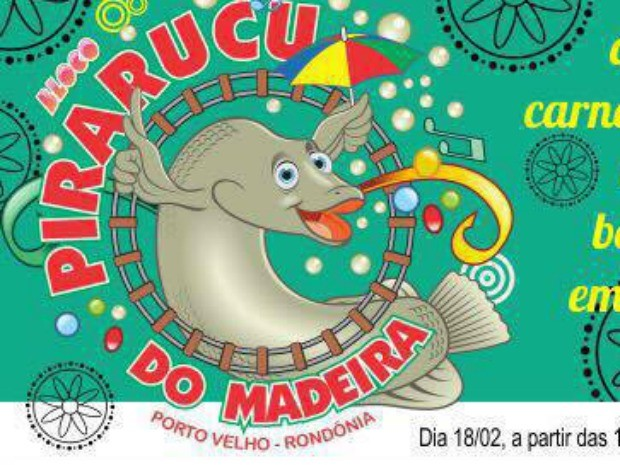 Bloco Pirarucu do Madeira, em Porto Velho (Foto: Bloco Pirarucu/Reprodução Facebook)