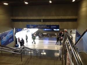 Nova Estação da Lapa é inaugura em Salvador (Foto: Juliana Almirante/G1)