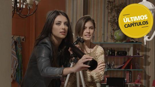 Últimos capítulos: Jade e Bianca instalam luneta para vigiar Duca