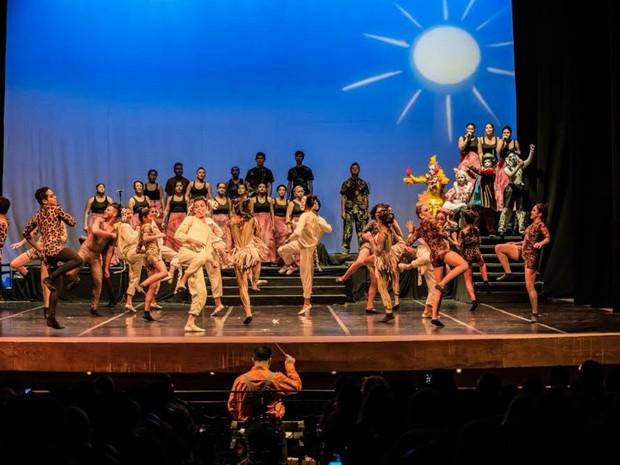 Liceu oferece formação em canto coral, música instrumental, teatro, dança e artes visuais (Foto: Sec/Divulgação)