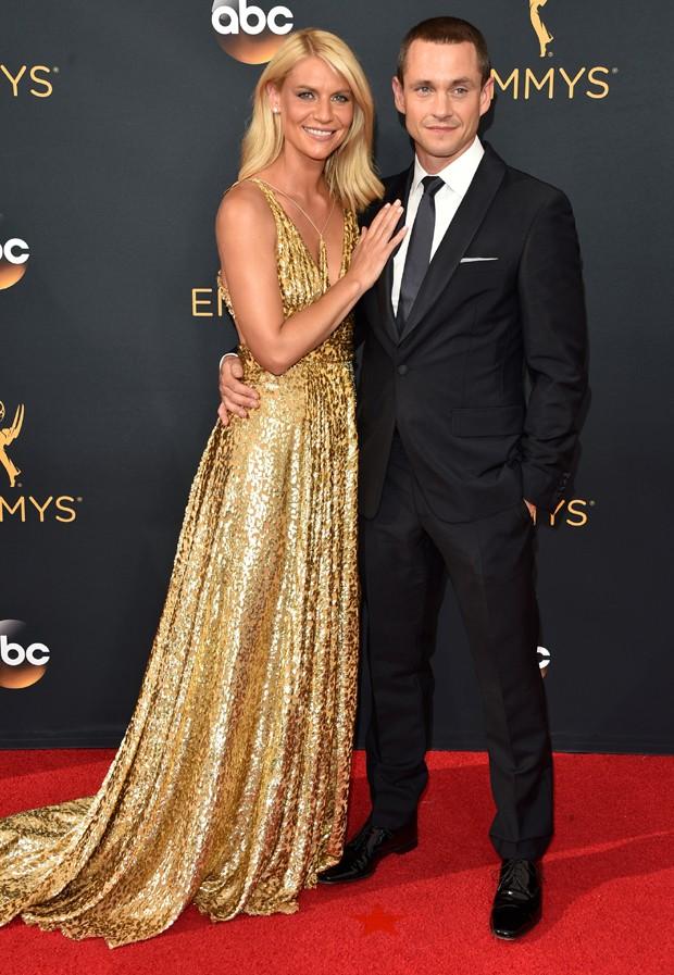 Claire Danes e o marido, Hugh Dancy (Foto: Getty Images)