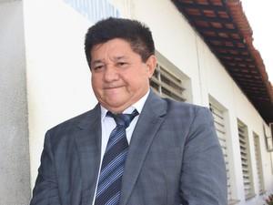 Juiz Antônio Lopes fala sobre crime dentro do CEM em Teresina (Foto: Gilcilene Araújo/G1)