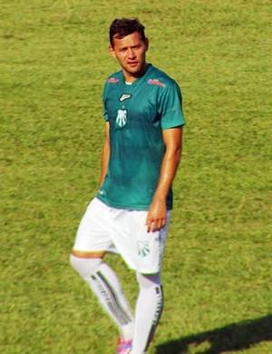 Luiz Eduardo, da Caldense, divide a artilharia do Campeonato Mineiro com Leandro Damião, do Cruzeiro, com 4 gols marcados (Foto: Reprodução EPTV)