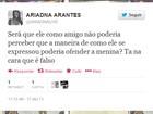 Ariadna critica Romário em história com transex: 'Mais bonito ter assumido'