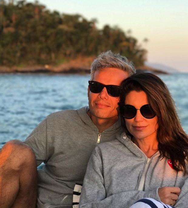Otaviano Costa e Flavia Alessandra (Foto: Reprodução / Instagram)