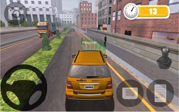 screenshot de Taxi Parking HD
