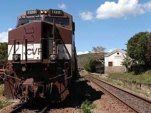Estrada de ferro Vitória Minas. (Foto: Ricardo Medeiros/ A Gazeta - 19/08/2004)