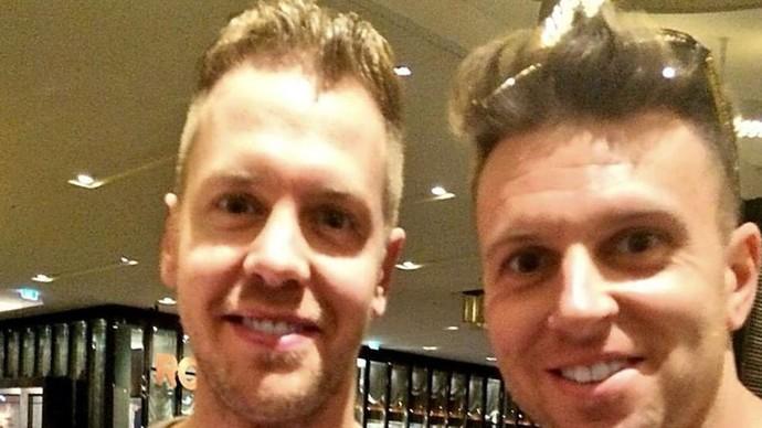 Vettel, twitter (Foto: Twitter)